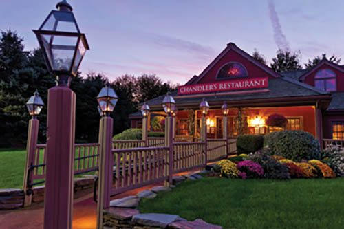 Chandler's Restaurant at Yankee Candle Village, South Deerfield